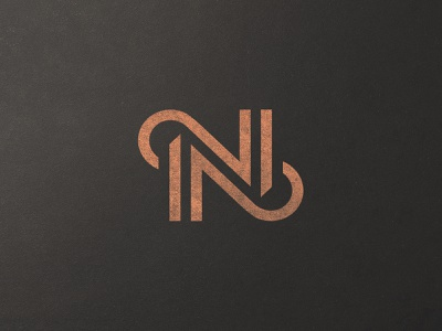 Nocturer Logo Color bold clean monogram simple luxury sophisticated elegant authentic logoforsale logodesigner logodesign modern epic symbol icon mark brand logo