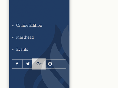 Social Sidebar – Hover Detail box-shadow z-index component vue css share social slab pop overlay