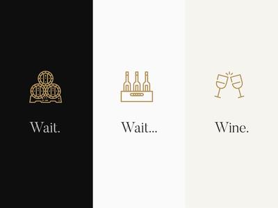 wait, wait, wine wine and white red