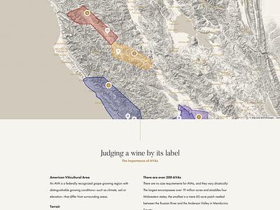 Vineyards Map rule hairline grapes google map california wine ava vineyards