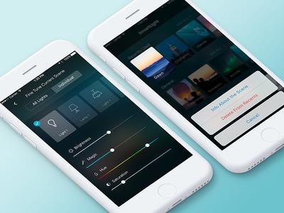 Light App - More Screens
