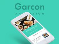 Garcon Food App