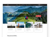 Travel Website Exploration