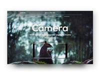 Galaxy S8/S8+ Camera Page Concept