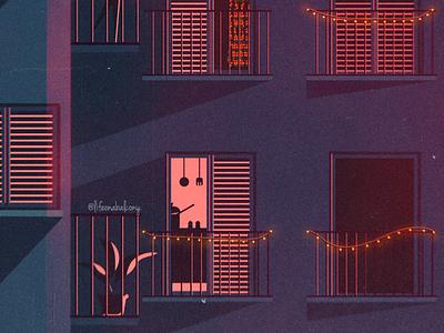 The season of my favorite evenings is starting✨ pt1 vibes night purple drawing illustration instagram social dream love summer stars lights moonlight sky feelings art digital envy balcony