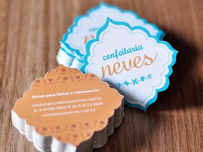 Confeitaria Neves - Business Cards