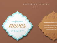 Confeitaria Neves   Business Card