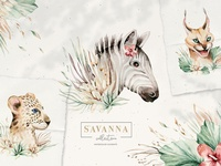 Stay Wild. Savanna collection