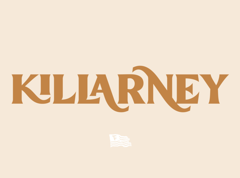 Killarney - Display Font