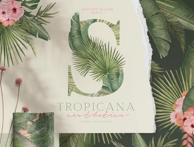 Tropicana Summer Jungle Aesthetic