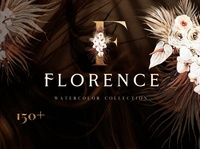 FLORENCE- Boho watercolor collection