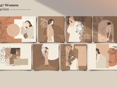 Wabi-Sabi women illustration abstractions shapes background vector graphic elements graphic design graphics cards card home decor art illustration design shape abstract poster women poster women design women illustration women