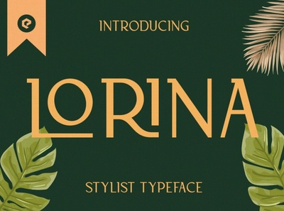 Lorina Stylist Typeface stylish font product simple professional art modern calligraphy calligraphy fonts calligraphy font calligraphy logo lettering typography fonts font luxury fonts design branding typeface stylist font luxury font
