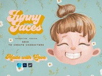 Cute Kids Grids for Procreate character illustrator character animation character designer characterdesign characters character character designs character design kids illustration design procreate art procreate character procreate app procreate grid kid grid kids kid cute kids cute kid procreate