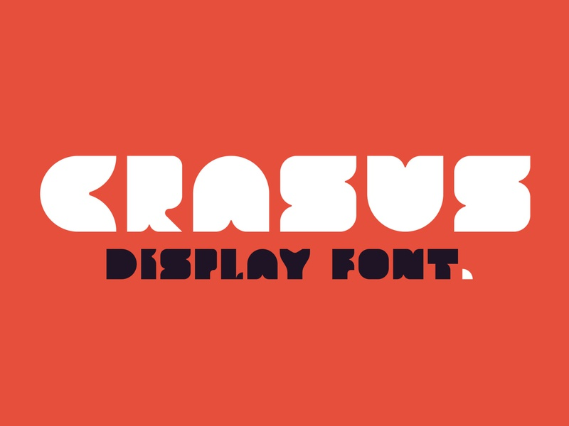 Crasus - Modern & Bold Display Font font family fonts collection design calligraphy fonts bold fonts calligraphy logo lettering typeface typography fonts sans serif font sans serif modern font display font font bold font bold display modern