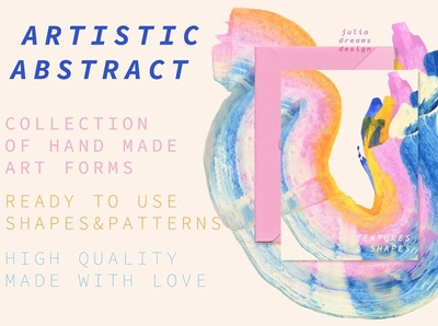 Artistic Abstract Collection hand made simple professional invitation wedding shapes shape vector posters poster illustration drawing abstraction abstract design abstract art watercolor design collection abstract artistic