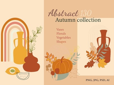 Abstract Autumn Collection abstraction greeting card logo packaging pages magazine wall art social media template social media posters background vector illustration design abstract design abstract art poster collection autumn abstract