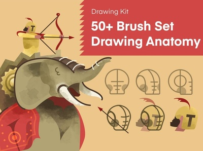 50+ Brush Set Drawing Anatomy character drawing character design animal character sketching sketch anatomy brush painting paint creative digital art procreate drawing procreate brushes procreate brush procreate brushes anatomy drawing brush set brush