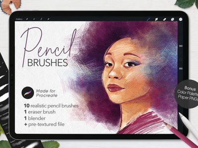 Ultimate Pencil Brushes • Procreate drawing brushes brush high quality graphic design flowers clipart vector illustration design procreate brush set pencil drawing pen and ink pen procreate brushes procreate brush procreate pencil brushes pencil brush pencil