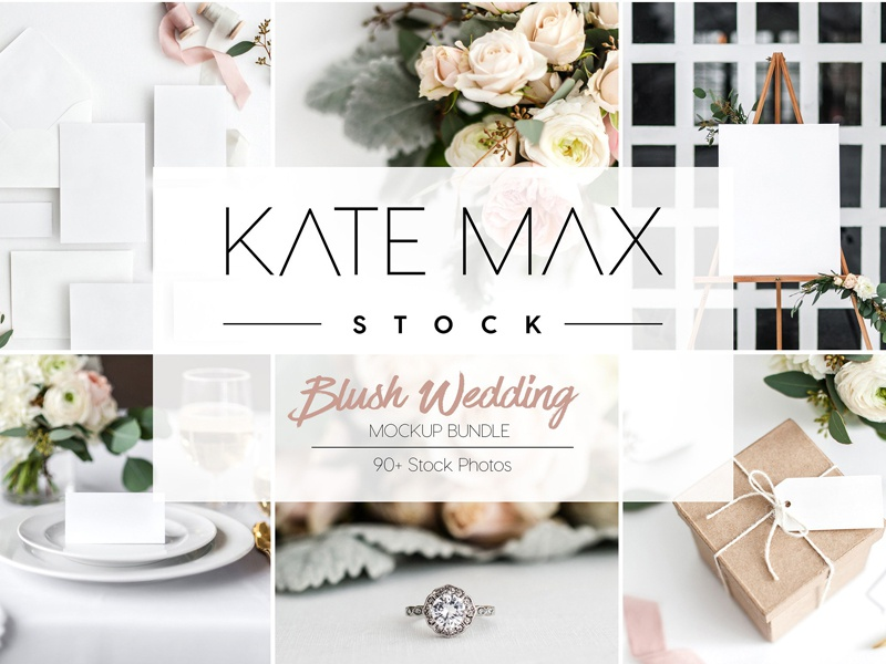 Wedding Stock Photo Mockup Bundle By Graphics Collection Dribbble