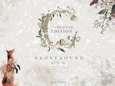 Frostbound Festive Edition + font