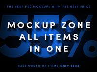 Mockup Zone BUNDLE - 55% OFF