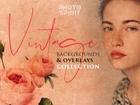 Vintage Backgrounds & Overlays
