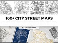 Complete City Street Map Bundle