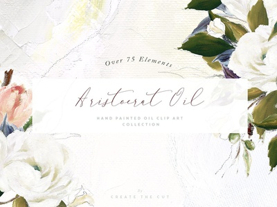Aristocrat Hand Painted Oil Clip Art