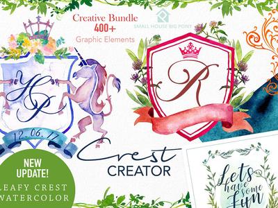 Crest Creator - Creative Bundle Set