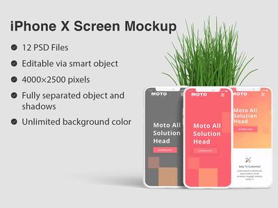 iPhone X Screen Mockup iphonex screen mockup iphone screen mockup ui ux presentation presentation iphone x screen iphone x mockup iphone x screen mockup