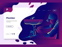 Plumber - Banner & Landing Page