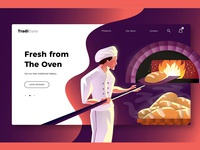 Bakery - Banner & Landing Page