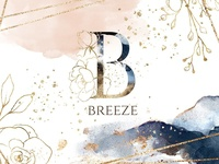 Breeze. Watercolor collection