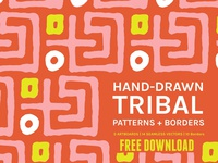 FREE Download - Abstract Tribal | Boards + Patterns
