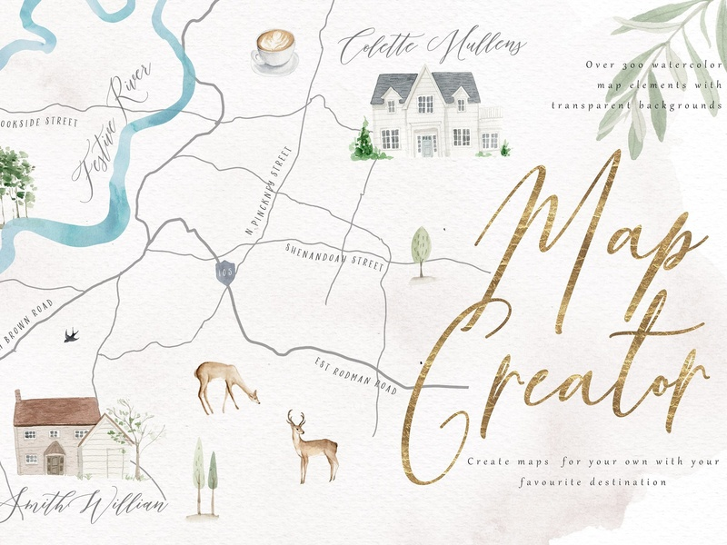 Map Creator by Graphics Collection on Dribbble on make your own dress, make your own family, make your own home, make your own save the date, make your own flowers, make your own cake,