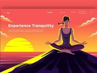 Yoga - Banner & Landing Page