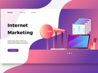 Internet Marketing - Banner & Landin
