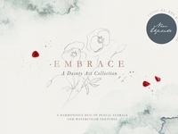 Embrace - Pencil Florals & Textures