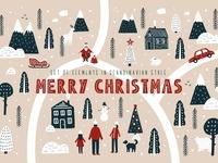 Merry Christmas - Scandinavian Set