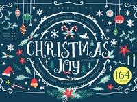 Christmas Joy - X-mas decoration kit