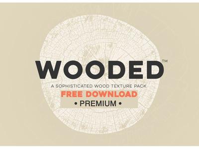 Free Premium Download - Wood Log Grain Texture Pack