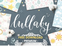 Free Premium Download - Cute baby patterns, prints, clipart