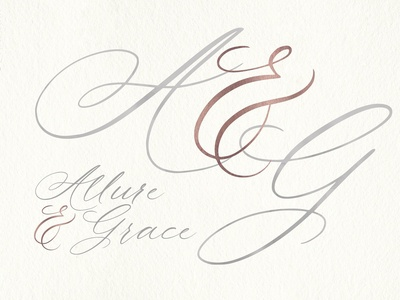 Allure and Grace Font. INTRO PRICE