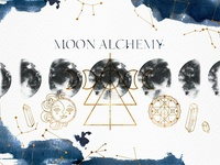 ☆MOON ALCHEMY☆ Watercolor collection
