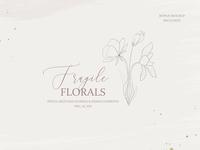 Fine Art Pencil Sketch Florals