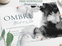 Free Premium Download - Black & Gray Ombre Texture