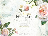 Fine Art collection.Roses.