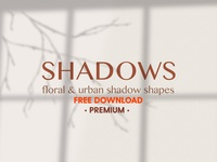 Free Premium Download - Shadow Shapes