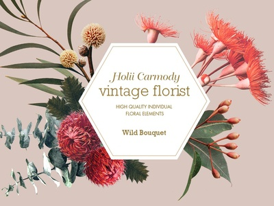 Vintage Wild Flowers Bouquet